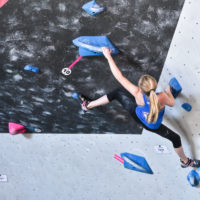 youth USA Climbing Competition & programs for climbing wall at Inner Peaks Climbing & Fitness Charlotte NC