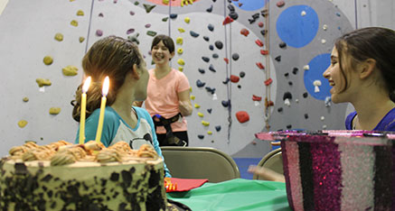 Our Rockin Birthday Party Is Great For Kids Ages 5 13 You Will Have Your Own Instructors 1 2 Hours Of Supervised Climbing Next Youll Thirty